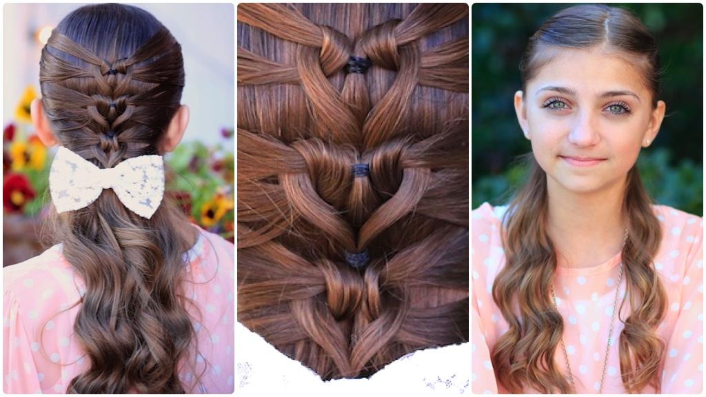 Как красиво заплести волосы. Заплетаем длинные 84
