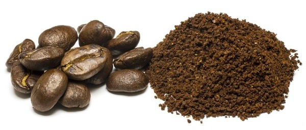 Молотый кофе незаменим при создании каштанового оттенка