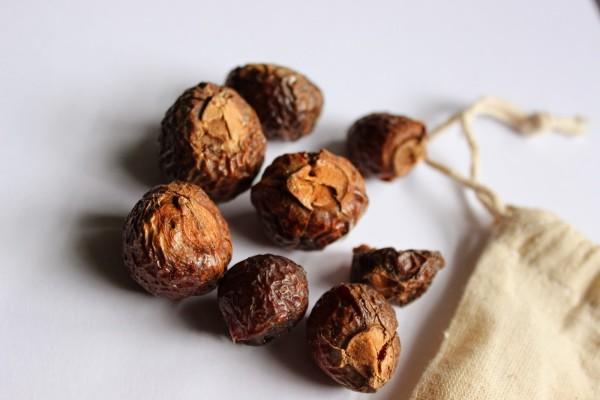Мыльные орехи активно используются для мытья головы и подходят любому типу волос, так почему бы не воспользоваться их свойствами при приготовлении домашнего шампуня?
