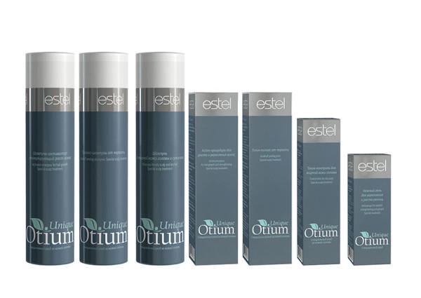 На фото – линия шампуней от Estel Otium Unique