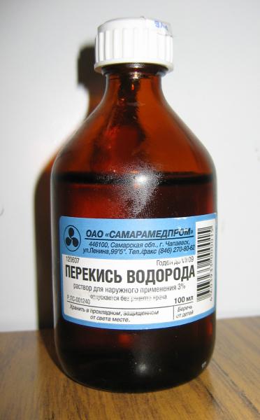 На фото «аптечный осветлитель».