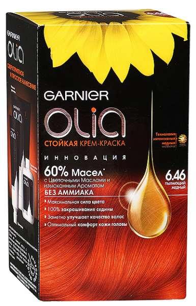 На фото изображена краска Олиа, которая отличается отсутствием аммиака и активируется маслом.