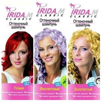 На фото: препараты марки Irida M. Classic