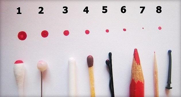 На фото — варианты предметов, которые можно использовать для дизайна ногтей в отсутствии профессиональных инструментов