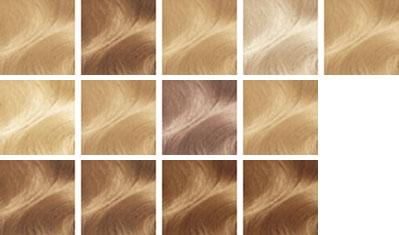 На фото все базовые оттенки блонда