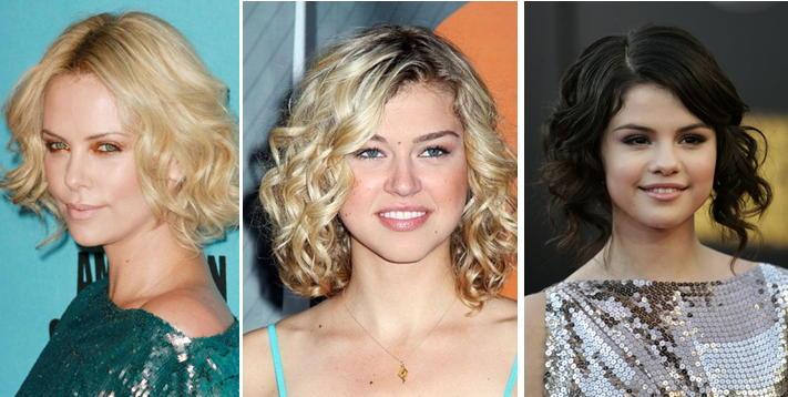 Как сделать кудри волнами на средние волосы