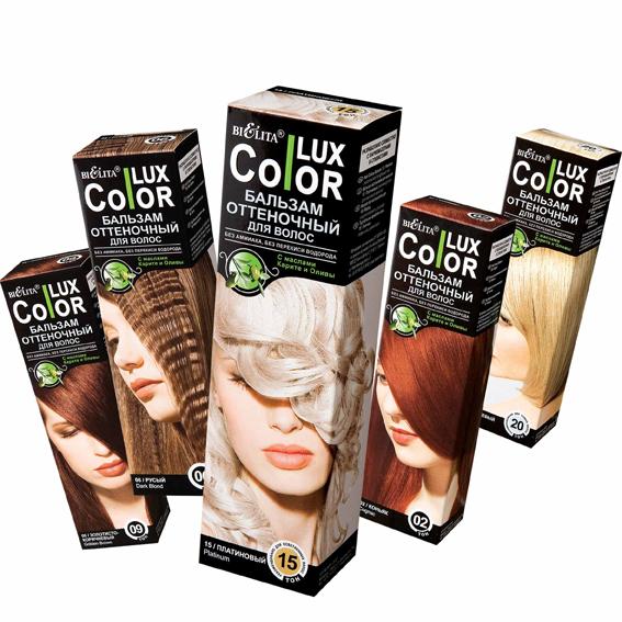 На упаковке указано, как пользоваться бальзамом для волос.