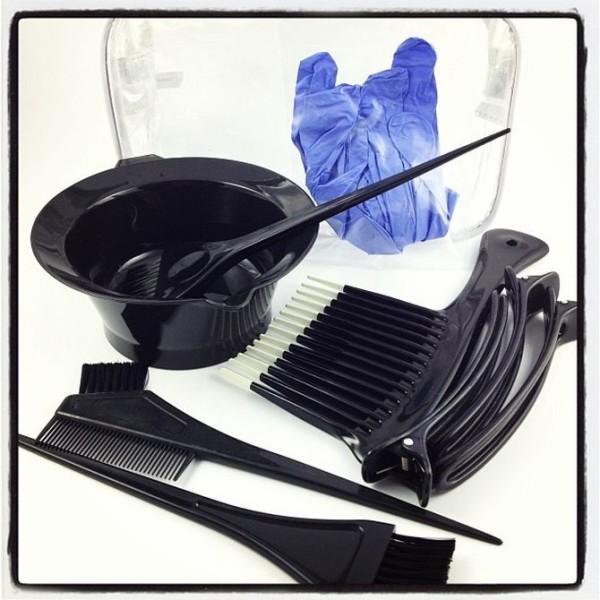 Набор инструментов для окрашивания волос