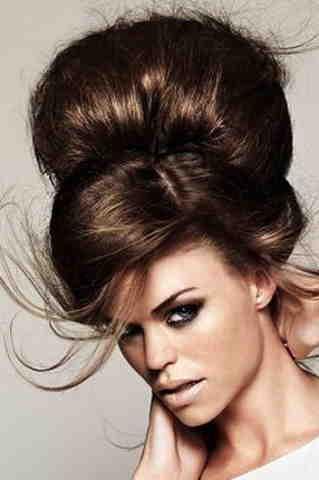 Начесать волосы можно по-разному! Выбирайте свою уникальную прическу.