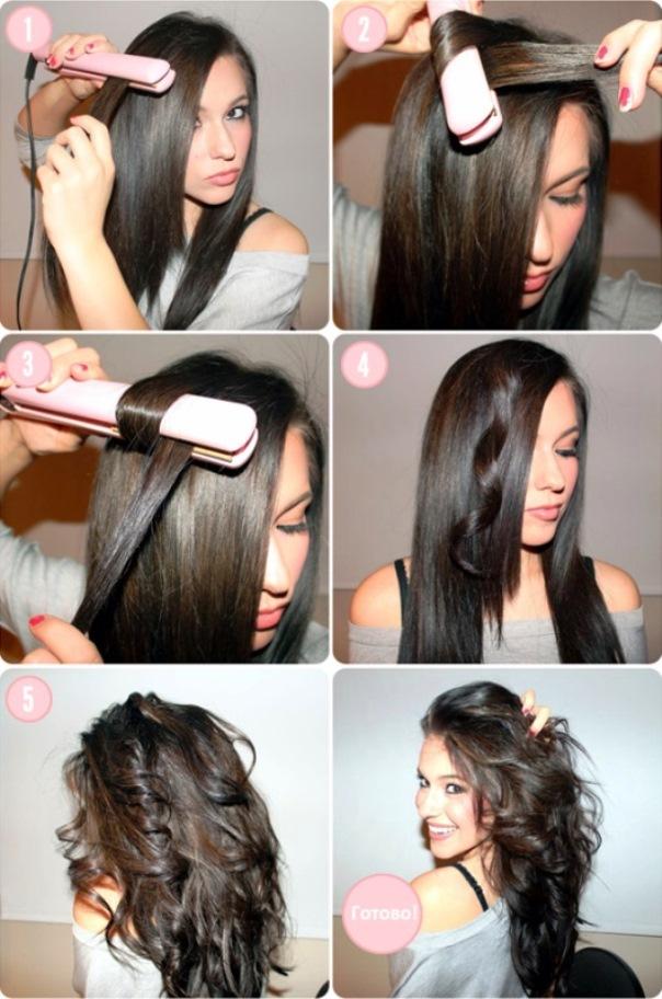 Как быстро сделать волнистые волосы в домашних условиях 73