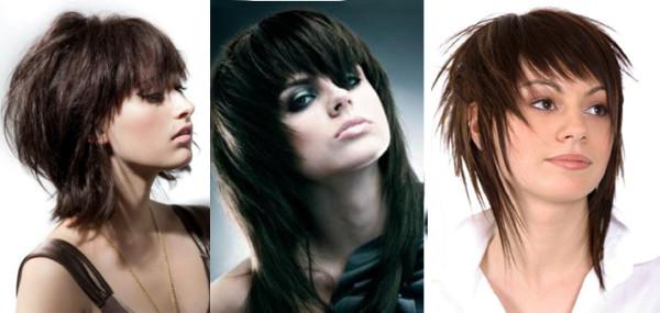 Наиболее популярна в последнее время стрижка каскад на средние волосы с челкой, т.к. эта длина является оптимальной для проведения экспериментов с укладкой