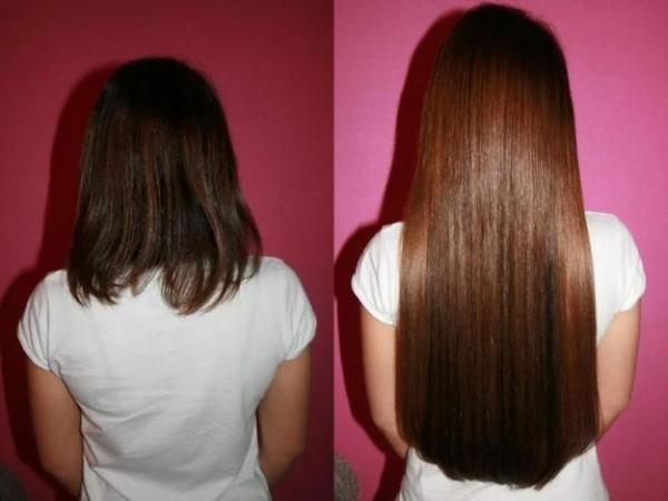 Наращивание позволит вам получить длинные волосы, о которых вы давно мечтали