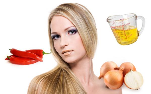 Народная медицина практикует также маски с добавлением красного перца и крапивы для роста волос