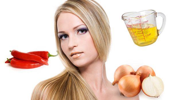 Народные методы противодействия активному выпадению волос связаны с использованием обыкновенных продуктов питания и отваров лекарственных трав.
