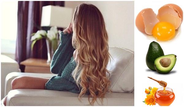 Натуральные продукты от ломкости волос