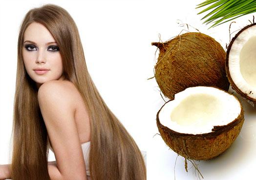 Не менее полезно для шевелюры и кокосовое молочко.