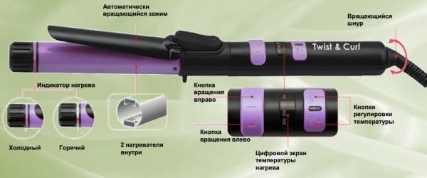 Небольшая инструкция по выбору стайлера на примере Harizma Twist and Curl 25 мм