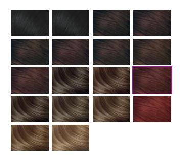 Некоторые оттенки для темноволосых барышень
