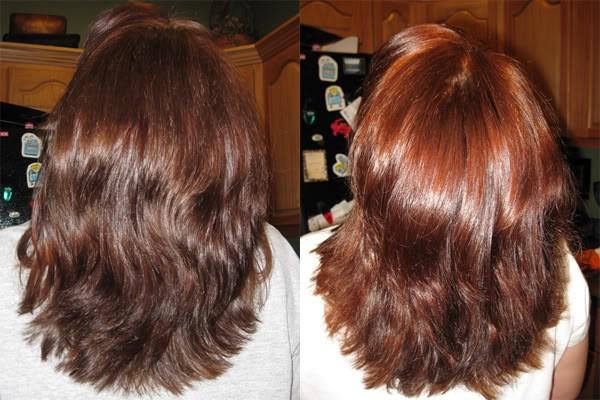 Несколько окрашиваний на самом деле делают волосы толще и «гуще», однако постоянное насыщение волосяного стержня природным пигментом – верный путь к ломкости и сухости