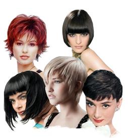 Обладательницы коротких волос могут создавать укладку в считанные минуты
