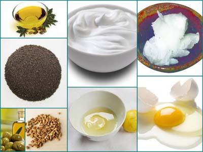 Основные ингредиенты масок