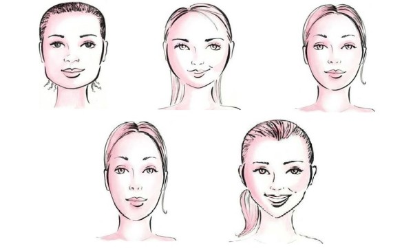 От типа лица зависит и выбор очертания волосков