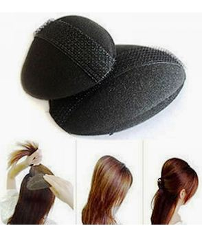 Овальный валик заменит начес и оградит волоски от травм.