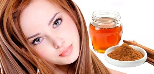 Оздоровительный состав: мед и корица для волос легко приготовим дома сами.