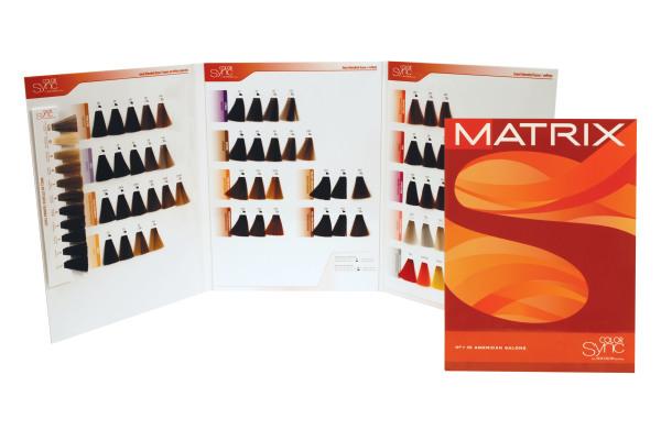 Палитра тонирующих красок от Matrix