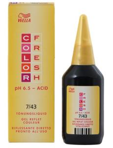 Пенка от производителя Wella отлично тонирует и укрепляет прическу
