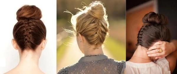 Перевернутая коса от затылка – одна из самых модных и востребованных причесок