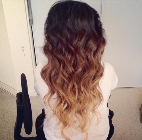 Плавность перехода цвета в Ombre Hair Color