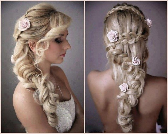 Плетения и косы вошли в моду свадебных причесок сравнительно недавно