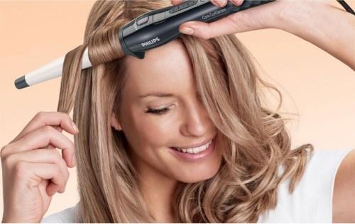 Плойка подойдет для волос любой длины