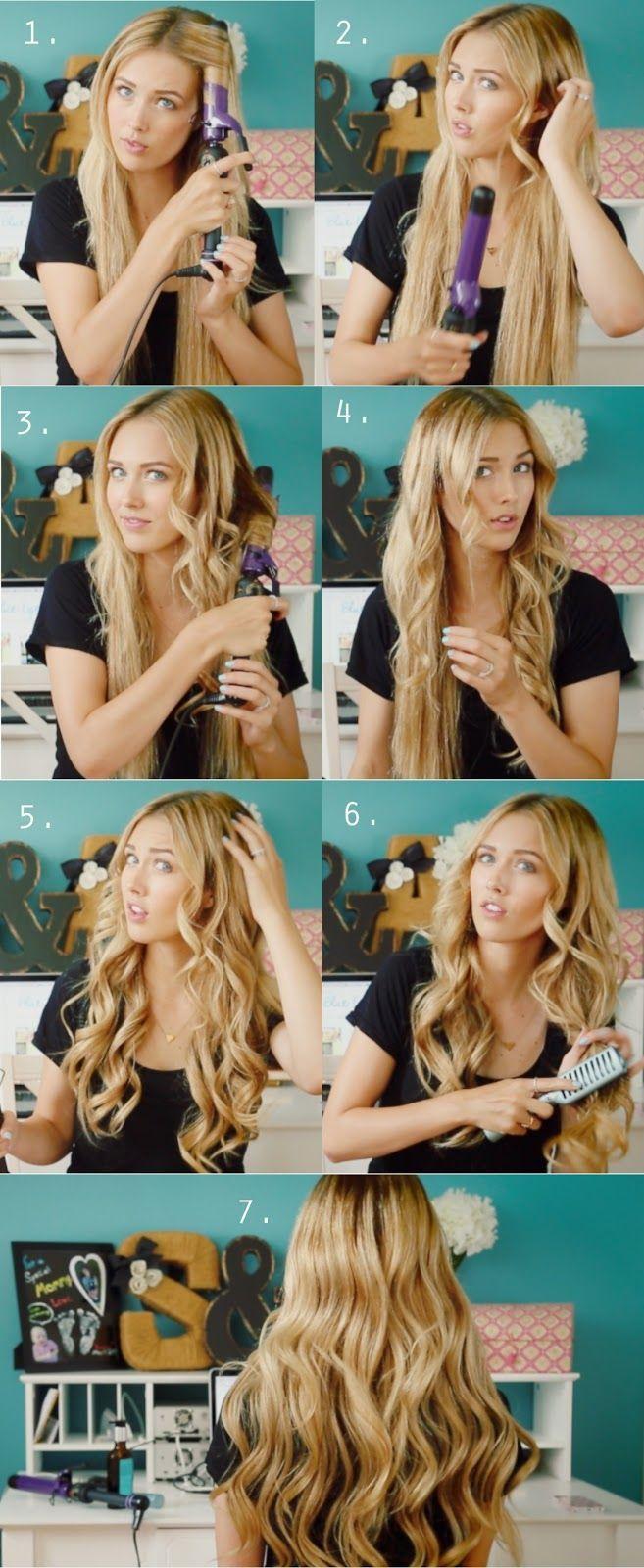Как быстро сделать волнистые волосы в домашних условиях 56