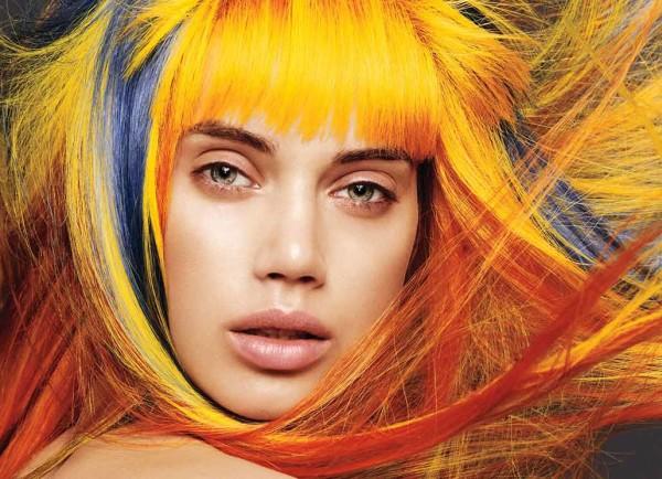Подбор оттенка волос к цвету кожи не всегда является парадигмой, нередко нестандартное решение дает более привлекательный и яркий результат