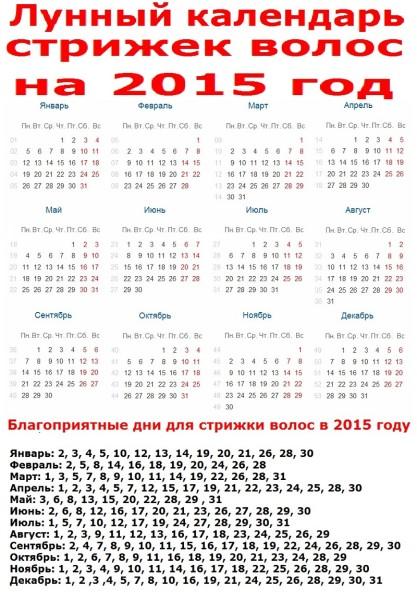 Полезная инструкция лунного календаря.