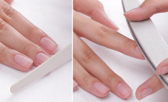 Полировка ногтевой пластины увеличивает стойкость гелевого покрытия