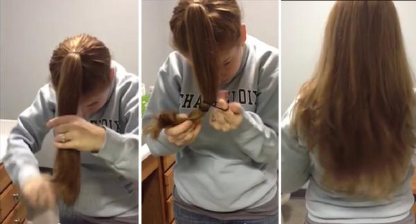 Как сделать бантик прическу кукле 315