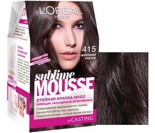 Поможет получить вашим локонам оттенок холодный каштан краска для волос под названием «Морозный каштан».