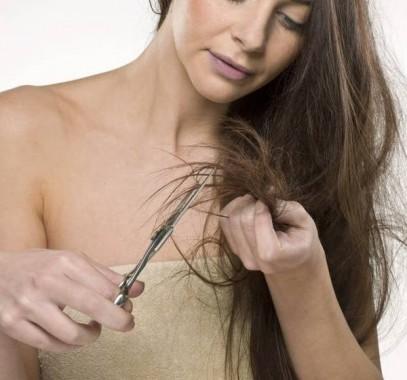 Посеченные волосы? Не спешите их срезать! Обратите внимание, прежде всего, на свое питание