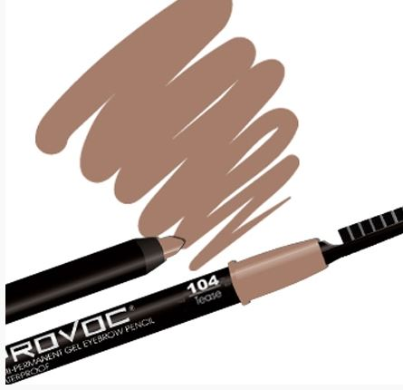 При сомнениях в выборе оттенка карандаша, отдавайте предпочтение наиболее нейтральным – бежевым или серо-коричневым