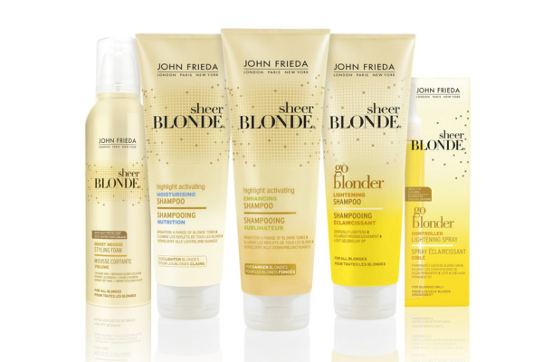 Профессиональный уход за светлыми волосами от John Frieda