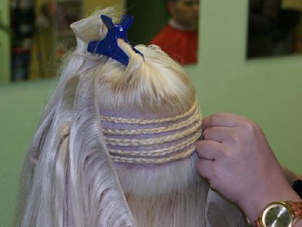 Просто расплетите косичку, чтобы избавиться от донорских волос