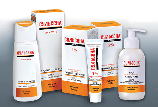 Противогрибковые препараты в виде шампуней и спреев