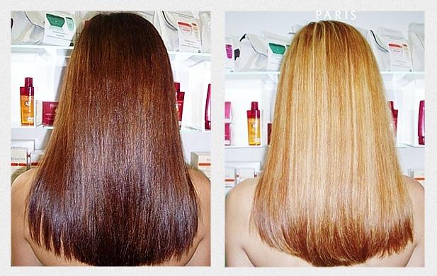 Как сделать осветление волос в домашних условиях 797