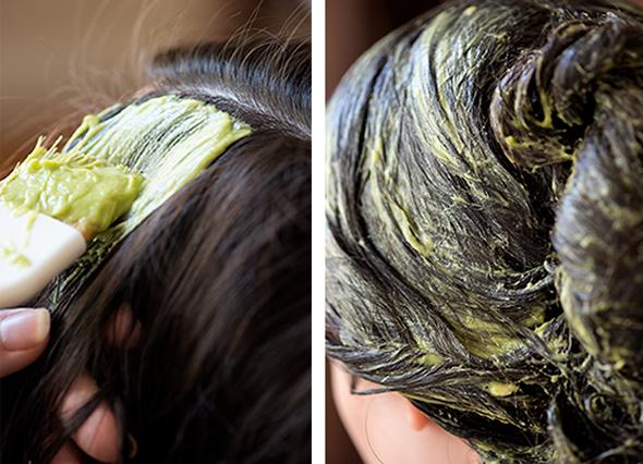 Распределять остатки маски по всей длине волос стоит только в том случае, если это указано в рецепте