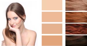 Рекомендуемые цвета в оранжевой и красной гамме