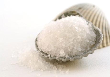 Рекомендуется использовать морскую соль