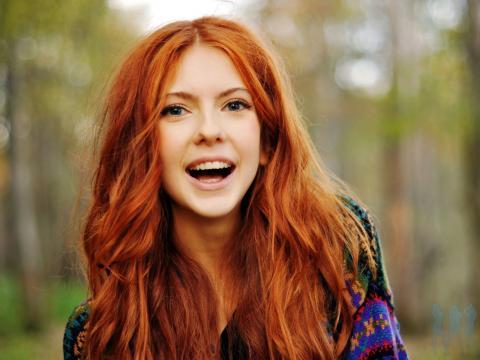 Рыжие волосы – «вина» рецессивного гена